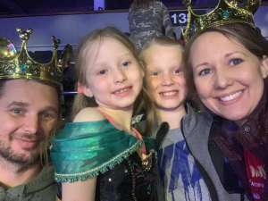 Nick Nelson attended Disney on Ice - Road Trip Adventures on Mar 12th 2020 via VetTix