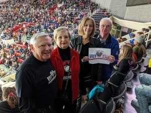 Charlie  attended Charlotte Checkers vs. Utica Comets- AHL on Mar 7th 2020 via VetTix