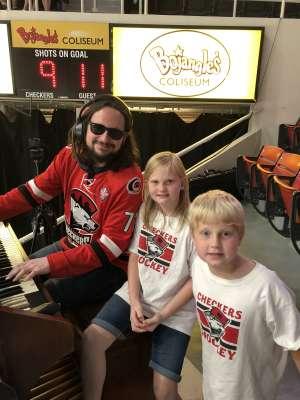 Carl attended Charlotte Checkers vs. Utica Comets- AHL on Mar 7th 2020 via VetTix