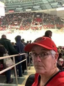 Sandy attended Charlotte Checkers vs. Utica Comets- AHL on Mar 7th 2020 via VetTix