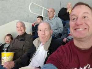 James attended Charlotte Checkers vs. Utica Comets- AHL on Mar 7th 2020 via VetTix