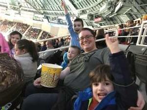Nathan Y attended Charlotte Checkers vs. Utica Comets- AHL on Mar 7th 2020 via VetTix