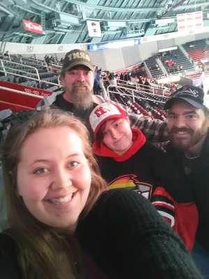 Bill attended Charlotte Checkers vs. Utica Comets- AHL on Mar 7th 2020 via VetTix