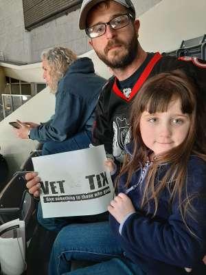 Ttidd attended Charlotte Checkers vs. Utica Comets- AHL on Mar 7th 2020 via VetTix