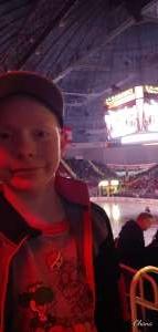 Ronnie attended Charlotte Checkers vs. Utica Comets- AHL on Mar 7th 2020 via VetTix