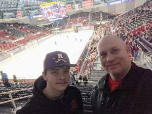 Deron attended Charlotte Checkers vs. Utica Comets- AHL on Mar 7th 2020 via VetTix