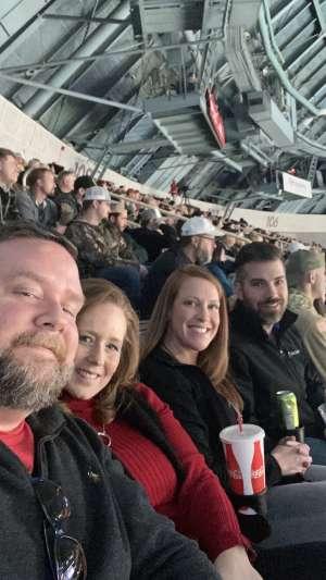 Dave W attended Charlotte Checkers vs. Utica Comets- AHL on Mar 7th 2020 via VetTix