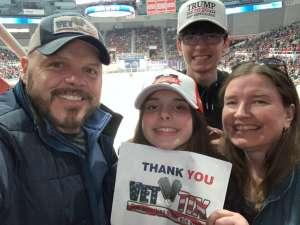 Eddie Martinez attended Charlotte Checkers vs. Utica Comets- AHL on Mar 7th 2020 via VetTix