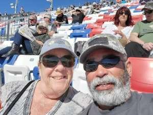 Phil attended Pennzoil 400 - KB100 Kurt Busch Fan Appreciation Tickets - NASCAR Cup Series on Feb 23rd 2020 via VetTix