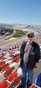 Lawrence attended Pennzoil 400 - KB100 Kurt Busch Fan Appreciation Tickets - NASCAR Cup Series on Feb 23rd 2020 via VetTix