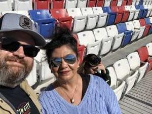 Christopher attended Pennzoil 400 - KB100 Kurt Busch Fan Appreciation Tickets - NASCAR Cup Series on Feb 23rd 2020 via VetTix