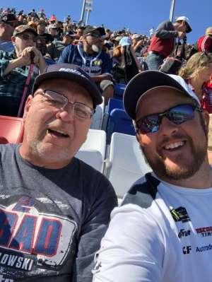 James attended Pennzoil 400 - KB100 Kurt Busch Fan Appreciation Tickets - NASCAR Cup Series on Feb 23rd 2020 via VetTix