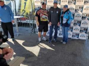 Steven attended Pennzoil 400 - KB100 Kurt Busch Fan Appreciation Tickets - NASCAR Cup Series on Feb 23rd 2020 via VetTix