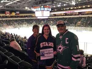 Michael attended Texas Stars vs Rockford Icehogs - AHL on Feb 26th 2020 via VetTix