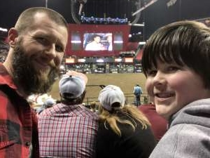 Chris attended WCRA Royal City Roundup Presented by PBR on Feb 28th 2020 via VetTix