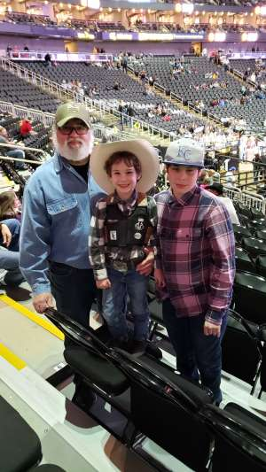 Jorge attended WCRA Royal City Roundup Presented by PBR on Feb 28th 2020 via VetTix