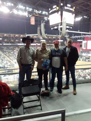 Kev attended WCRA Royal City Roundup Presented by PBR on Feb 28th 2020 via VetTix