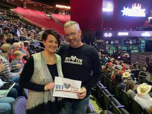 Cary Simmons  attended WCRA Royal City Roundup Presented by PBR on Feb 28th 2020 via VetTix