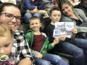 Parker Family  attended WCRA Royal City Roundup Presented by PBR on Feb 28th 2020 via VetTix