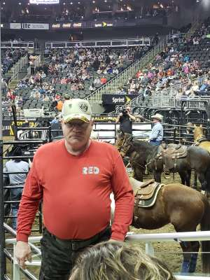 Frank attended WCRA Royal City Roundup Presented by PBR on Feb 28th 2020 via VetTix