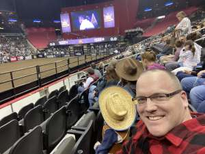 Joshua Reed attended WCRA Royal City Roundup Presented by PBR on Feb 28th 2020 via VetTix