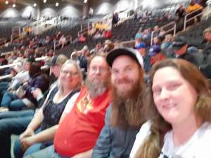 Allen attended WCRA Royal City Roundup Presented by PBR on Feb 28th 2020 via VetTix