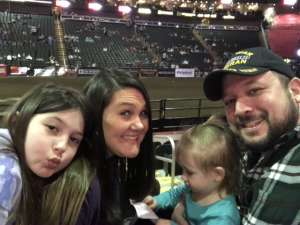 Micah attended WCRA Royal City Roundup Presented by PBR on Feb 28th 2020 via VetTix