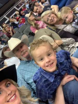Nick attended WCRA Royal City Roundup Presented by PBR on Feb 28th 2020 via VetTix
