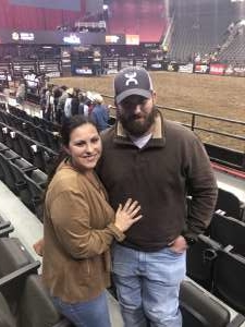 Danielle S. attended WCRA Royal City Roundup Presented by PBR on Feb 28th 2020 via VetTix