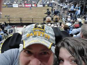 Dean attended WCRA Royal City Roundup Presented by PBR on Feb 28th 2020 via VetTix