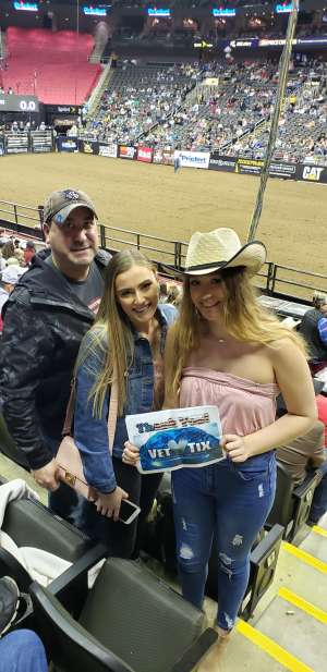 Vic attended WCRA Royal City Roundup Presented by PBR on Feb 28th 2020 via VetTix