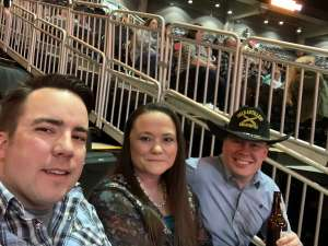 Jesse Cain attended WCRA Royal City Roundup Presented by PBR on Feb 28th 2020 via VetTix