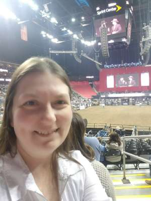 Linda attended WCRA Royal City Roundup Presented by PBR on Feb 28th 2020 via VetTix