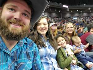 Jackie attended WCRA Royal City Roundup Presented by PBR on Feb 28th 2020 via VetTix