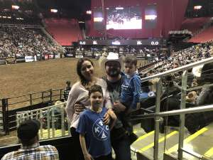 David attended WCRA Royal City Roundup Presented by PBR on Feb 28th 2020 via VetTix