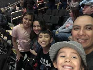 Andrew Lopez attended WCRA Royal City Roundup Presented by PBR on Feb 28th 2020 via VetTix