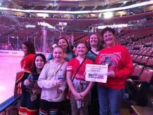 Barbara attended Florida Panthers vs. Calgary Flames - NHL on Mar 1st 2020 via VetTix