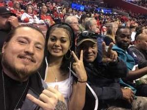 Pete attended Florida Panthers vs. Calgary Flames - NHL on Mar 1st 2020 via VetTix