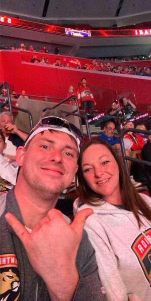 Corey attended Florida Panthers vs. Calgary Flames - NHL on Mar 1st 2020 via VetTix