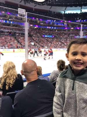 David attended Florida Panthers vs. Calgary Flames - NHL on Mar 1st 2020 via VetTix