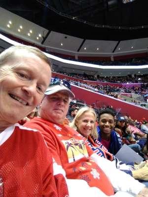 Bruce attended Florida Panthers vs. Calgary Flames - NHL on Mar 1st 2020 via VetTix