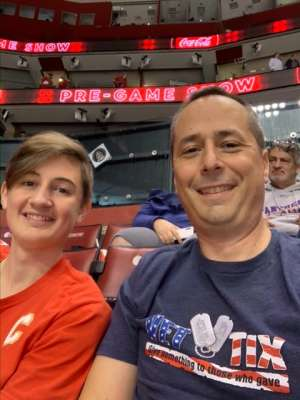 USAF attended Florida Panthers vs. Calgary Flames - NHL on Mar 1st 2020 via VetTix