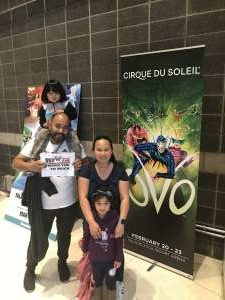 Click To Read More Feedback from Cirque Du Soleil: Ovo