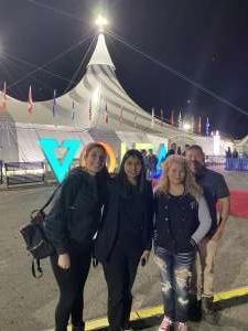 jose attended Cirque Du Soleil: Volta on Feb 26th 2020 via VetTix