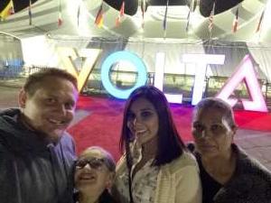 Marc attended Cirque Du Soleil: Volta on Feb 26th 2020 via VetTix