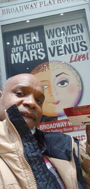 Kenneth attended Men Are From Mars / Women Are From Venus Live on Feb 23rd 2020 via VetTix