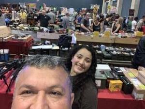 Rudy attended New Braunfels Gun Show on Mar 14th 2020 via VetTix