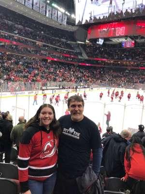 James attended New Jersey Devils vs. St. Louis Blues - NHL on Mar 6th 2020 via VetTix