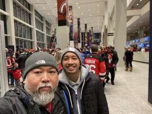 Evan Tajo attended New Jersey Devils vs. St. Louis Blues - NHL on Mar 6th 2020 via VetTix