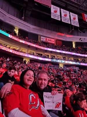 Dan S. attended New Jersey Devils vs. St. Louis Blues - NHL on Mar 6th 2020 via VetTix